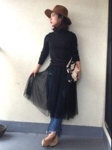 チュールスカートはおばさんが履いても大丈夫?40代は痛いのか徹底検証!