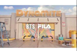 BTSとFILAコラボのダイナマイトコレクションはどこで買える?販売店舗はどこ?